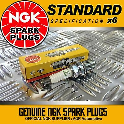 6 x NGK SPARK PLUGS 97218 FOR VAUXHALL/OPEL VECTRA C 2.8 (10/05-->12/09)