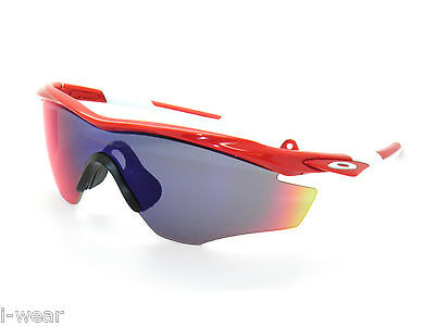 d1374c54b9a OAKLEY M2 FRAME M-2 9212-12 REDLINE Positive Red Iridium SUNGLASSES ...