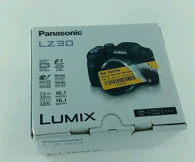 PANASONIC DMC-LZ30 POINT & SHOOT DIGITAL CAMERA- 16.1 MP 35x OPTICAL ZOOM- BLACK