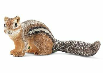 Schleich - Chipmunk (squirrel) toy figure NEW * Wild Life #14722