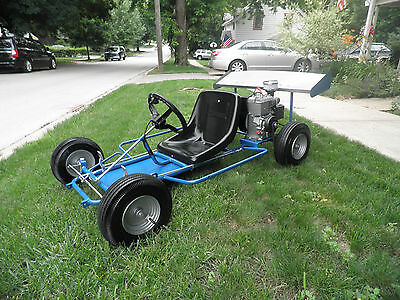 VINTAGE GO CART Kids Race Car Kart Restored FW & Assoc  3hp Briggs Racing  FAST!
