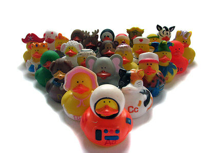 26 ABC Rubber Duck Characters - Alphabet - Spelling