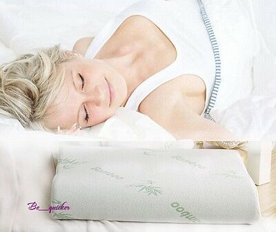 2016 NEW Rectangle Sleeping Pillow Zipped Washable Memory Foam Cooling Pillow B