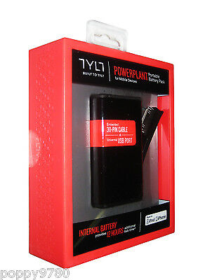 NEW TYLT PowerPlant Portable Battery Pack iPhone 3G 3GS Ipod Touch 30-Pin USB