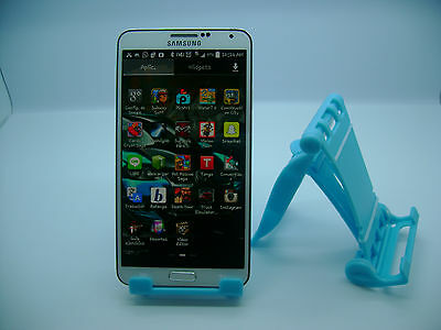 LOT OF 100 NEW STAND HOLDER CELL PHONE DISPLAY 1 in 1 BL03 LIGHT BLUE