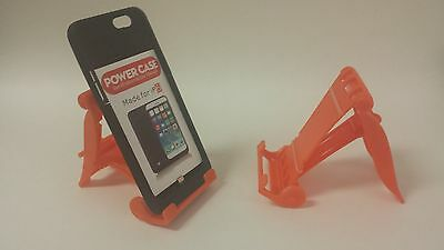 LOT OF 100 NEW STAND HOLDER CELL PHONE DISPLAY 1 in 1 BL03 ORANGE