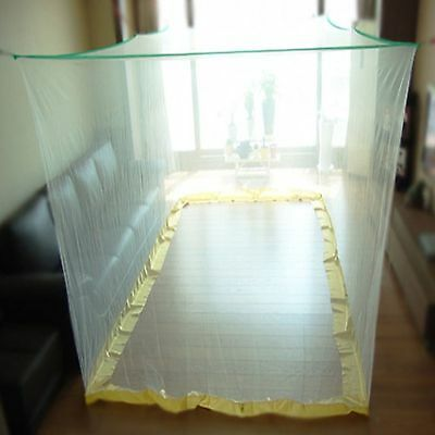 Large Portable Insect Mosquito Fly Net Netting Screen Indoor Outdoor Camp -White