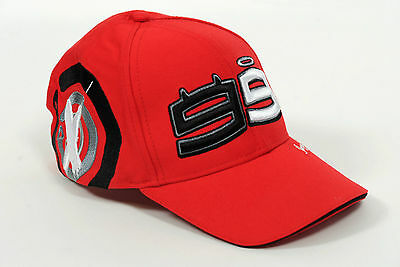 Jorge Lorenzo #99 Red Paddock Cap Officially Licensed