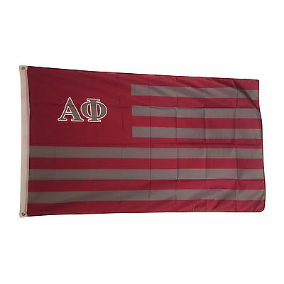 Alpha Phi Nation Flag 3' x 5' - Free Shipping! Indoor/Outdoor Use!