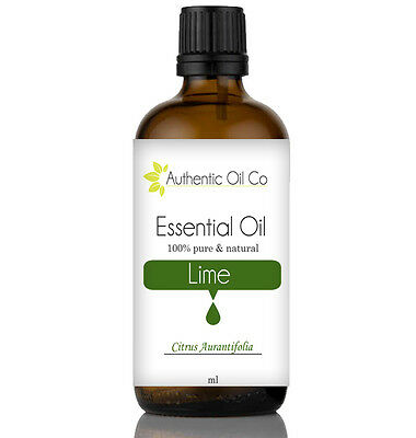 Lime Essential Oil Pure 10/50/100/500ml 1 Litre Natural Aromatherapy Massage UK