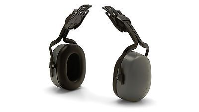 Pyramex CM6010 Gray Cap Mounted Safety Ear Muff Attachment NRR 27 New!