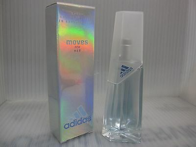 new product cdf2f 55ba2 ADIDAS MOVES FOR HER by COTY 1.0 FL oz   30 ML EDT Spray Sealed Box