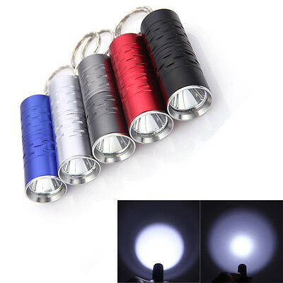 Mini CREE XM-L T6 Keychain LED Flashlight 3-Modes 1600 Lumen Lighting Torch Lamp