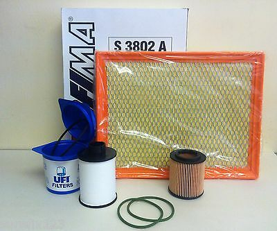 FOR Vauxhall Vectra C 1.9 CDTI DIESEL SERVICE KIT OIL AIR FUEL FILTER