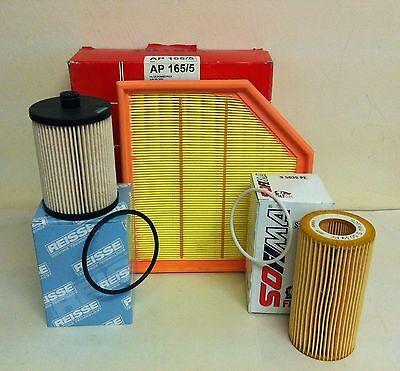 FOR VOLVO XC90 2.4 D5 163bhp 08/05-  DIESEL SERVICE KIT OIL AIR FUEL FILTER