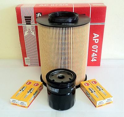 FOR Ford Focus Mk2 1.6 Petrol Service Kit  04/07-   Air Oil Filter &  NGK Plugs