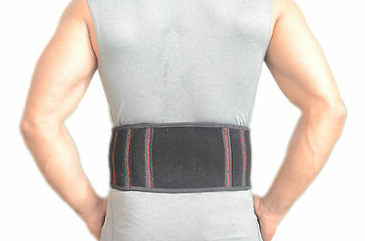 Magnetic Adjustable Neoprene Double Pull Lumbar Support Lower Back Belt Brace