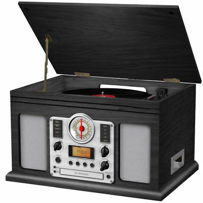 33 45 Vinyl Turntable/cassette tape Player/CD burner/record/Recorder/AM FM Radio