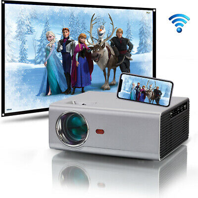 1080P FULL HD Home Theater Mulitimedia 4000 lumens USB HDMI LED Movie Projector