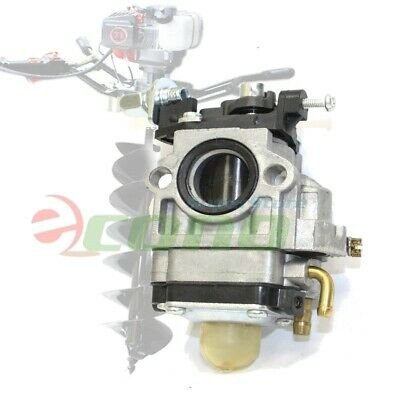 Carburetor Carb w/ Primer For 71CC 52cc 55CC EARTH AUGER POST HOLE DIGGER PART