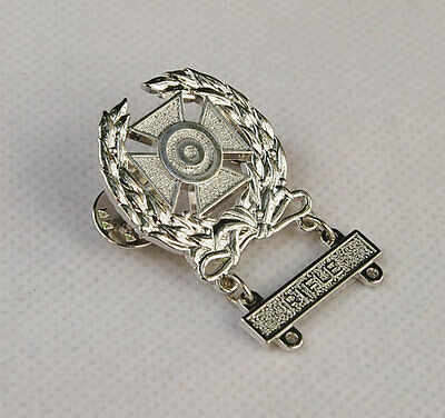 Wwii Us Army Wheat Small Bore Rifle Marksman Shooting Badge -31994