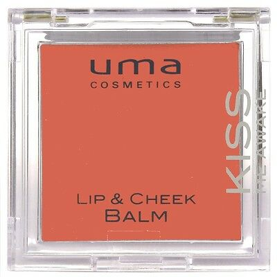 uma COSMETICS Lip & Cheek Balm Lippenpflege (Kiss Me Awake) NEU