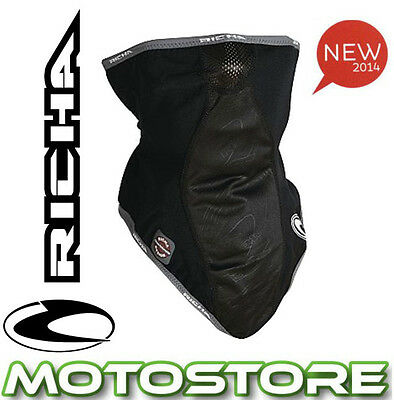 Richa Wind Zero Neck Tube Motorcycle Motorbike Windproof Windstopper Black