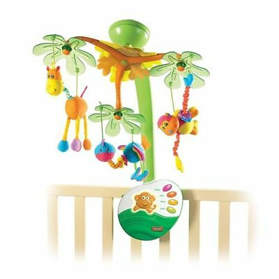 NEW! Tiny Love Sweet Island Dreams Mobile with Nature Sounds and Night Light