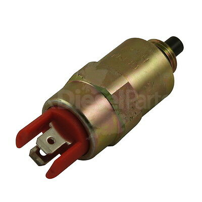 Stop Solenoid 24V - 7180-49D / 7185-900P - Fits Multiple Applications