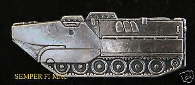 LVTP7 Armoured Amphibious Assault Vehicle AAV HAT PIN UP US MARINES NAVY TRAC