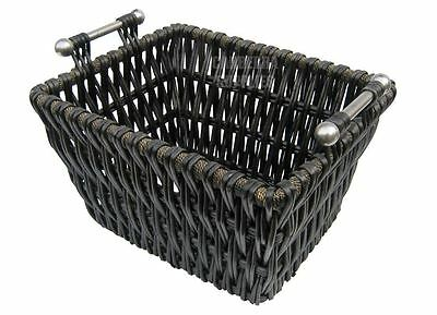 Manor Edgecott Fire Side Log Kindling Basket Carrier With Handles - 1337