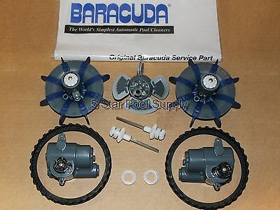 ZODIAC BARACUDA MX8 Complete Overhaul / Tune Up Kit OEM Pool Cleaner Parts NEW