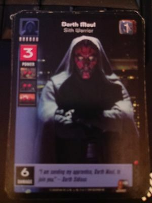 Star Wars Young Jedi TCG Battle of Naboo Darth Maul Dark Lord of the Sith MINT