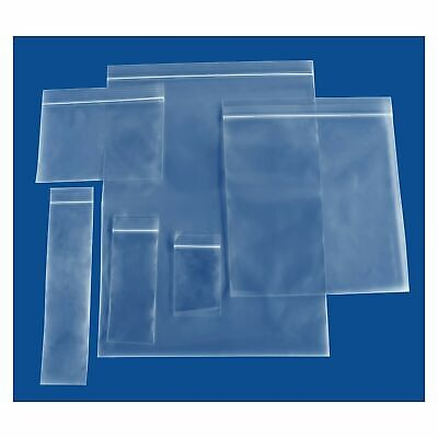 Assorted Clear Small Pharmacy Reclosable Plastic Bags 2mil-4mil