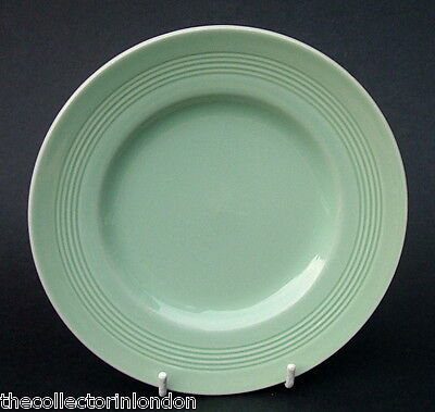 Wood Woods & Sons Green Beryl Pattern Lge Size Dinner Plates 25.5cm Look in VGC