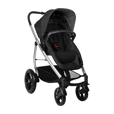 Phil&Teds Smart Lux Stroller in Black Color Brand New!! 21 Riding Positions!!