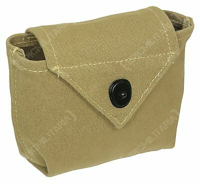 WW2 American US Army AIRBORNE RIGGERS POUCH - Para Paratrooper Khaki Webbing New