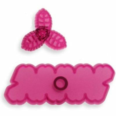 JEM Set of 2 CUPID ROSE Flower Icing Cut Out Cutters Sugarcraft Cake Decoration