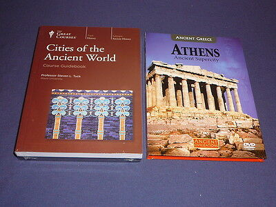 Teaching Co Great Courses  DVDs      CITIES of the ANCIENT WORLD     new + BONUS