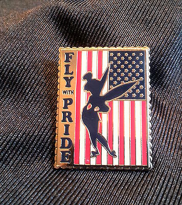 Patriotic Tinker Bell Fly With Pride Disney Fantasy Pin Limited Edition 300