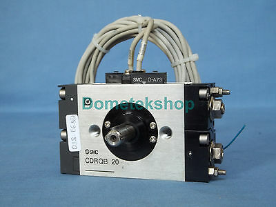 SMC CDRQB 20 Rotary Actuator with 2 auto switches