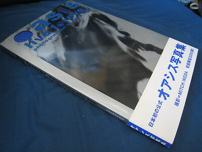 Mitch Ikeda Oasis Live Forever Japan Photo Book w OBI Beedy Eye Noel Gallagher