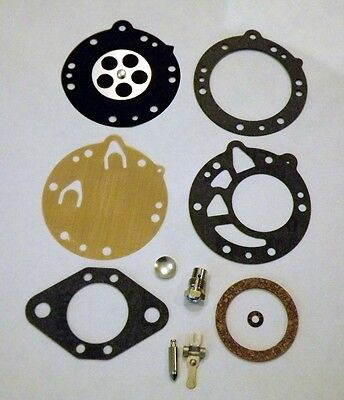 Tillotson style RK-117HL carburettor diaphragm rebuild kit for selected go karts