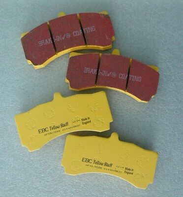 EBC YELLOWSTUFF BRAKE PADS K SPORT 8 POT CALIPERS FRONT KIT 330 / 356mm DP4006R