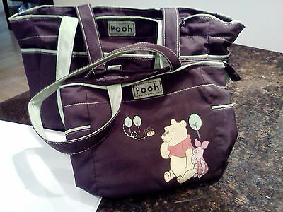 Cute & Flexible is This POOH Baby Bag by Walt Disney  (Pre-owned)- Bag within