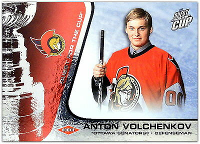 2002-03 Quest For The Cup - ANTON VOLCHENKOV #134 - /950 Rc