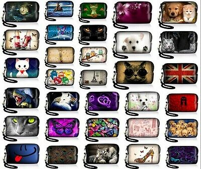 Colorful Uiversal Case Bag Pouch For Digital Camera Cell Phone Ipod touch Iphone