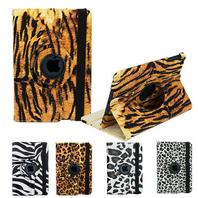 Animal 360 Rotating Case Cover for Apple iPad 4 3 2 iPad mini 1 3 iPad Air 2