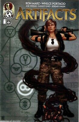 Artifacts #8 (8B cover) Witchblade - Darkness