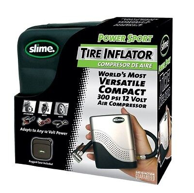 NEW Slime Power Sport 12V 300psi Tyre Inflator 40001